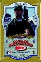1998 Donruss Preferred Tin Packs Gold #1 Todd Helton