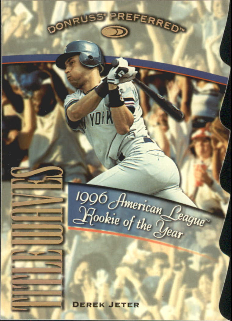 1998 Donruss Preferred Title Waves #10 Derek Jeter/1996