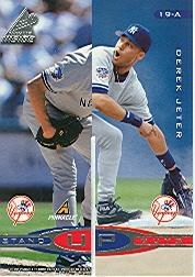 1998 Pinnacle Inside Stand-Up Guys #19CD Jeter/T.Mart/B.Will/Pettitte