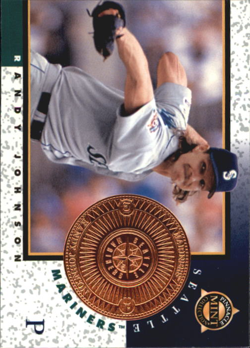 1998 Pinnacle Mint Bronze #10 Randy Johnson