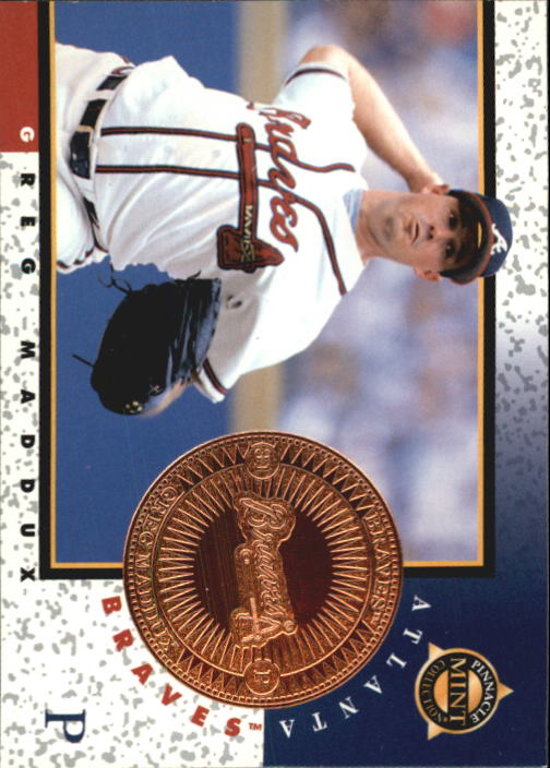 1998 Pinnacle Mint Bronze #12 Greg Maddux