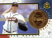 1998 Pinnacle Mint Coins Brass #12 Greg Maddux