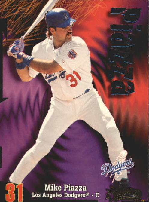 1998 Circa Thunder #200 Mike Piazza
