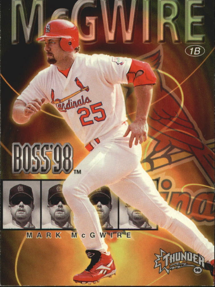 1998 Circa Thunder Boss #14 Mark McGwire