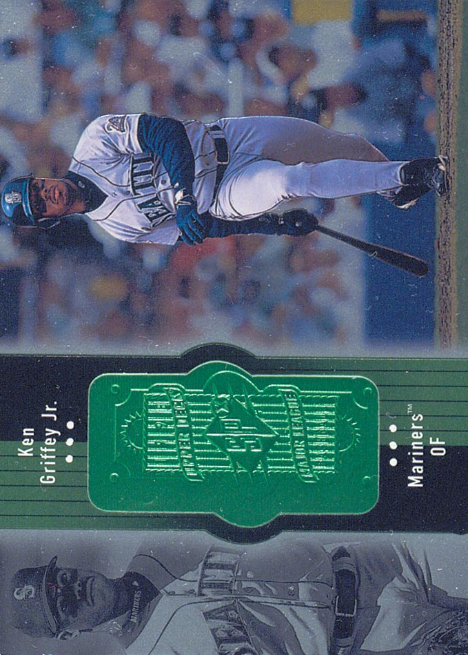 1998 SPx Finite Sample #1 Ken Griffey Jr.