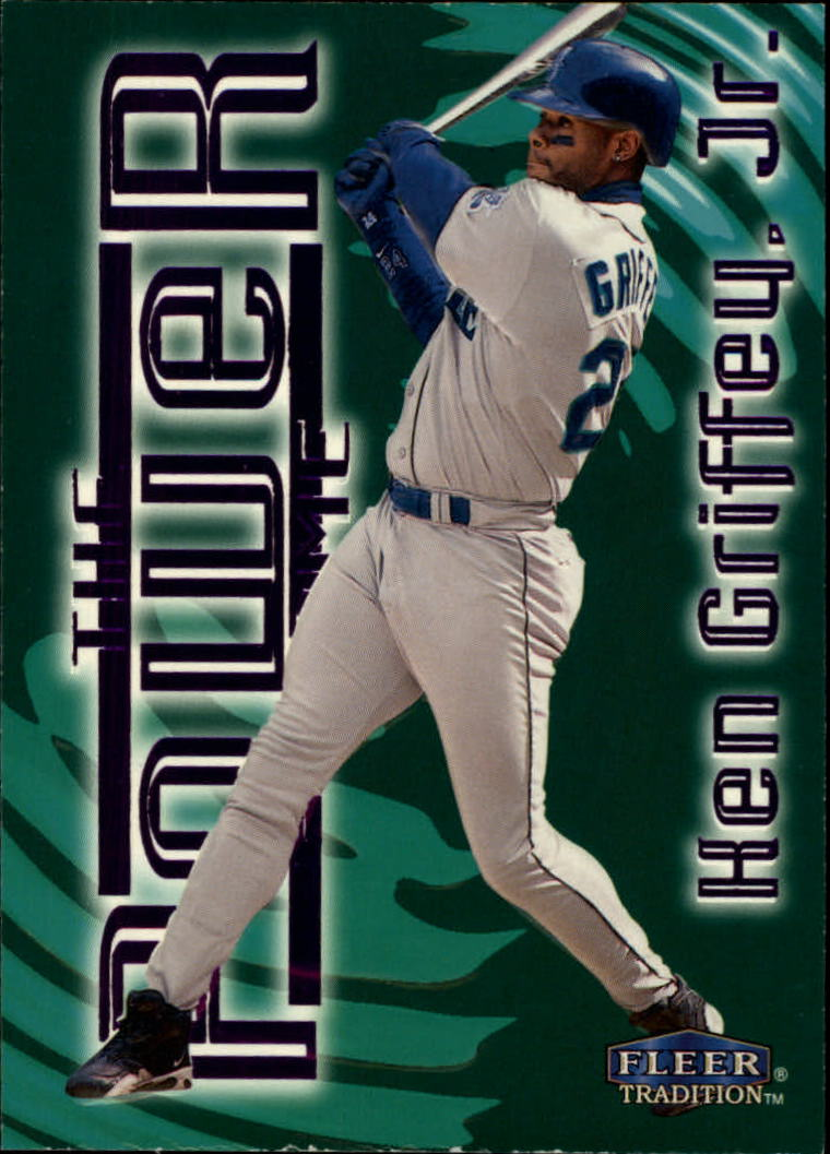 1998 Fleer Tradition Power Game #10 Ken Griffey Jr.