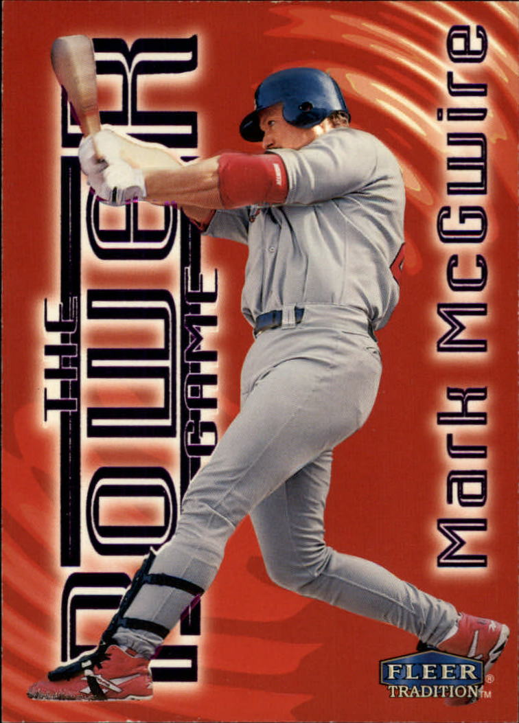 1998 Fleer Tradition Power Game #15 Mark McGwire