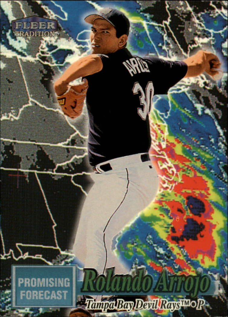 1998 Fleer Tradition Promising Forecast #PF1 Rolando Arrojo