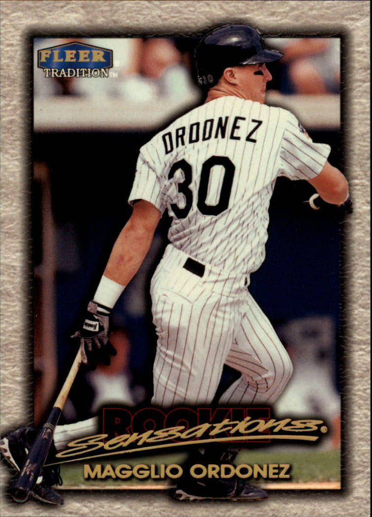 1998 Fleer Tradition Rookie Sensations #15 Magglio Ordonez