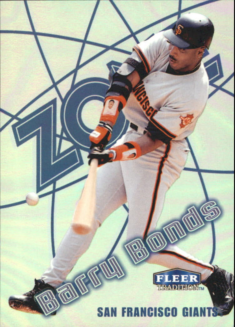 1998 Fleer Tradition Zone #2 Barry Bonds