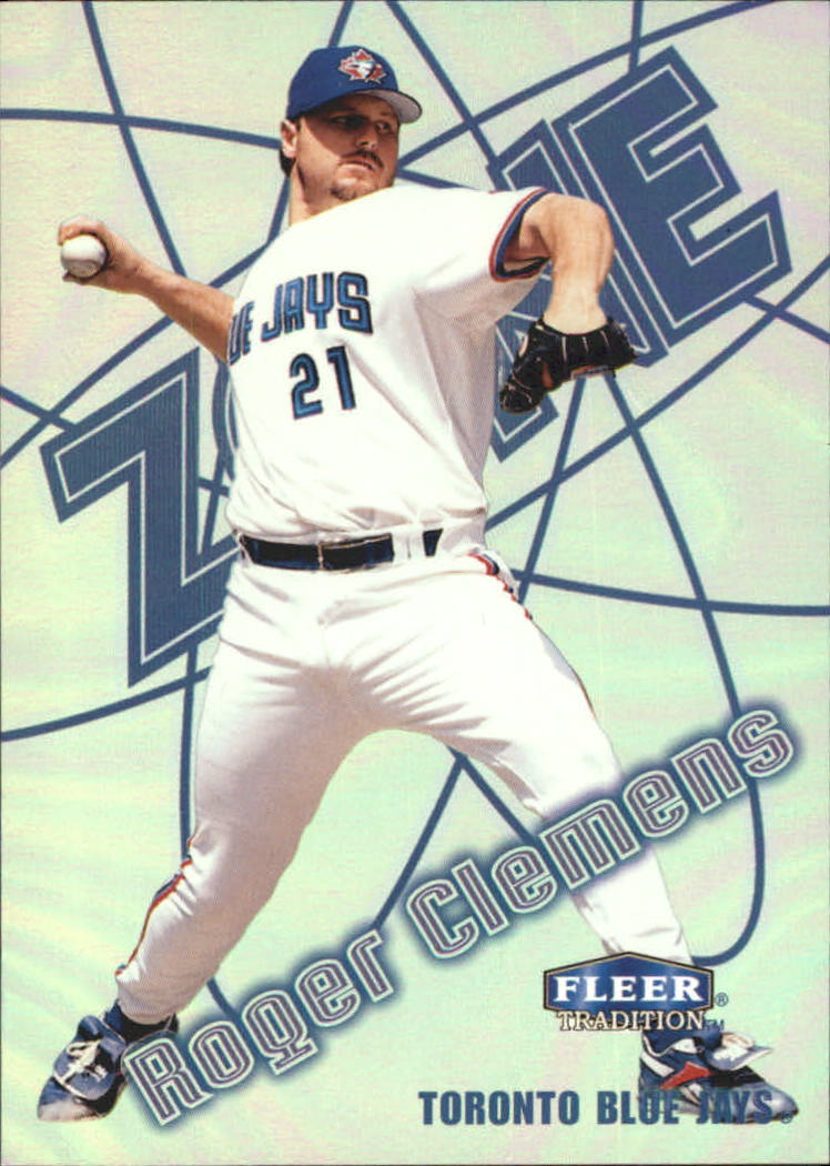 1998 Fleer Tradition Zone #3 Roger Clemens