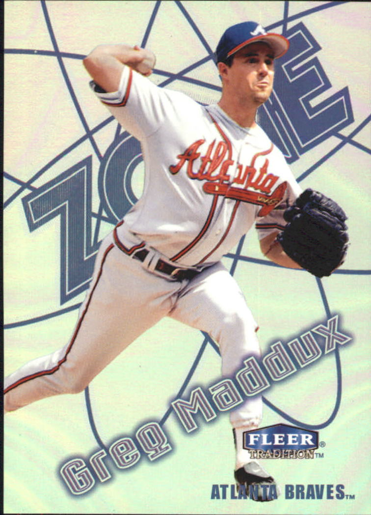1998 Fleer Tradition Zone #10 Greg Maddux