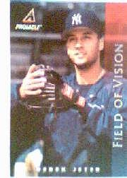 1998 Pinnacle Power Pack Jumbos #4 Derek Jeter FV