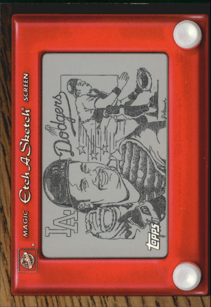 1998 Topps Etch-A-Sketch #ES6 Mike Piazza