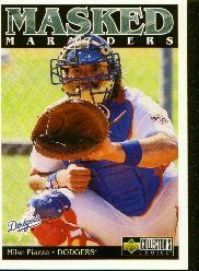 1998 Collector's Choice #185 Mike Piazza MM