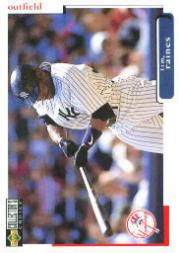 1998 Collector's Choice #192 Tim Raines