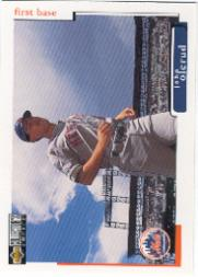 1998 Collector's Choice #443 John Olerud