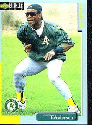1998 Collector's Choice #455 Rickey Henderson