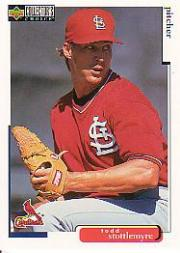 1998 Collector's Choice #471 Todd Stottlemyre