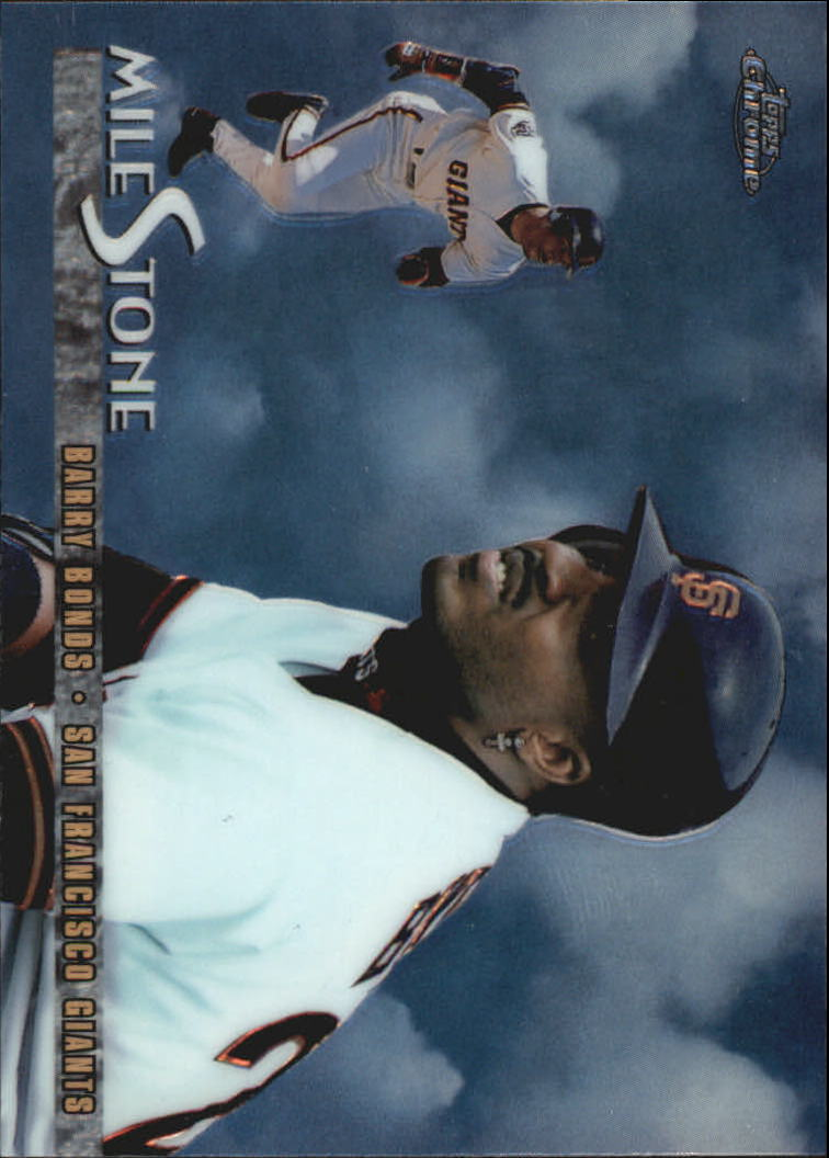 1998 Topps Chrome Milestones #MS1 Barry Bonds