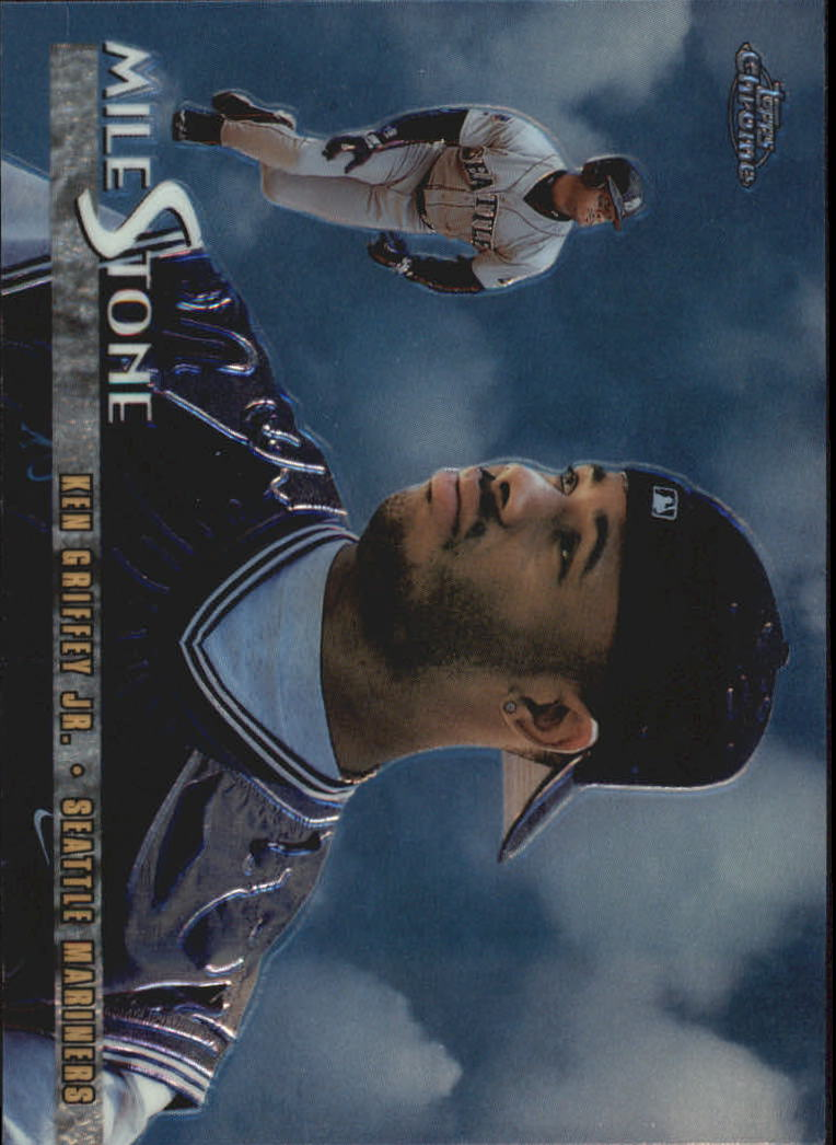 1998 Topps Chrome Milestones #MS5 Ken Griffey Jr.