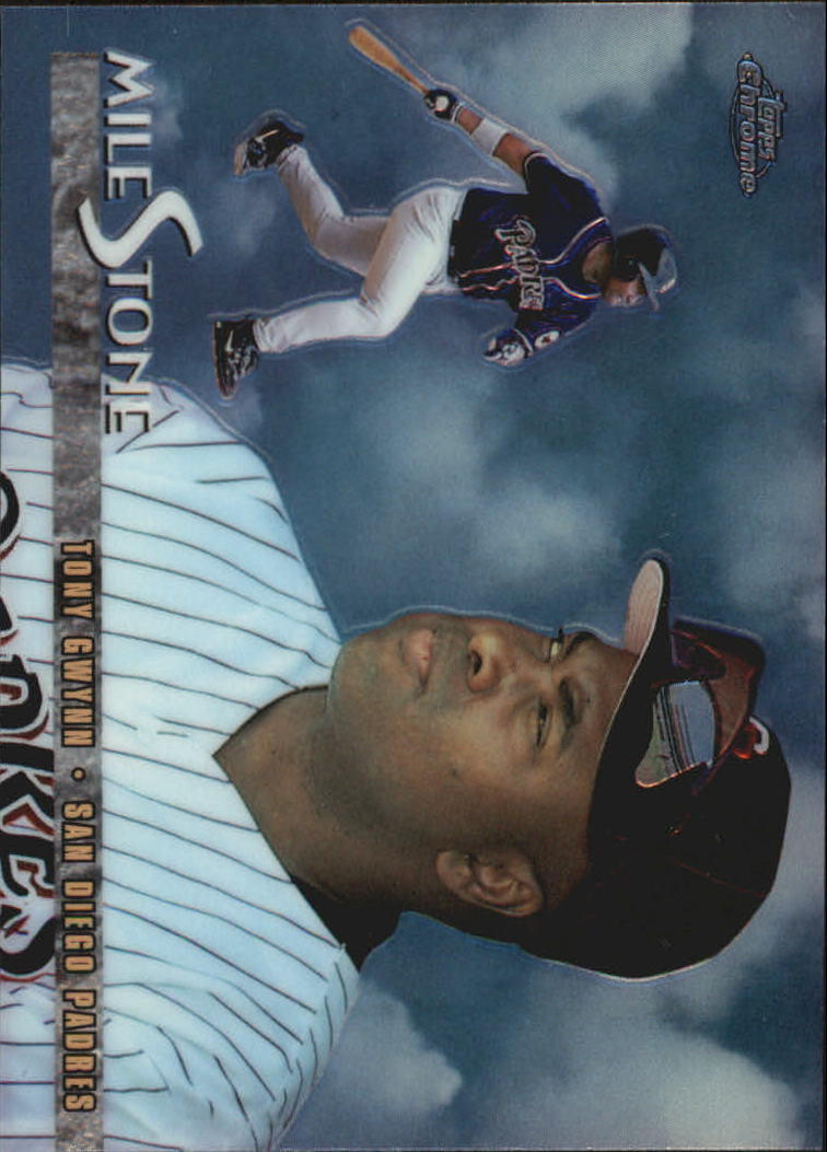 1998 Topps Chrome Milestones #MS6 Tony Gwynn