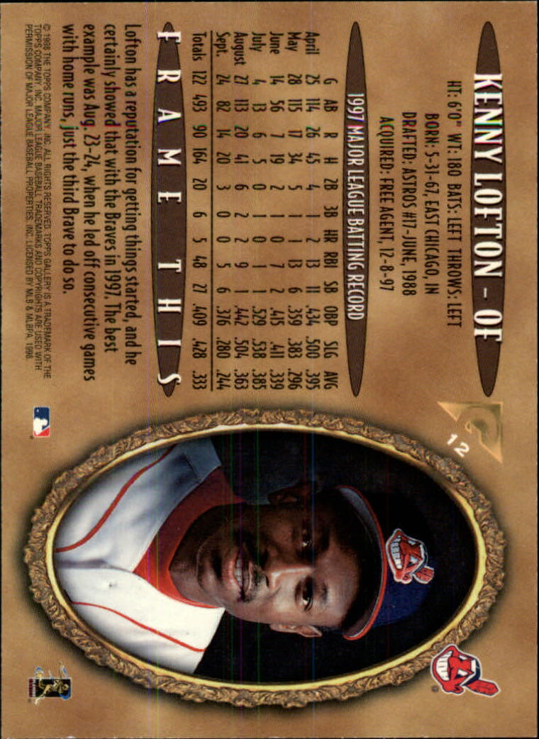 1998-Topps-Gallery-Baseball-Cards-Pick-From-List thumbnail 13
