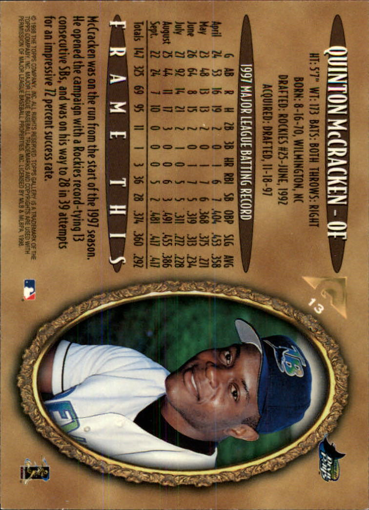 1998-Topps-Gallery-Baseball-Cards-Pick-From-List thumbnail 15