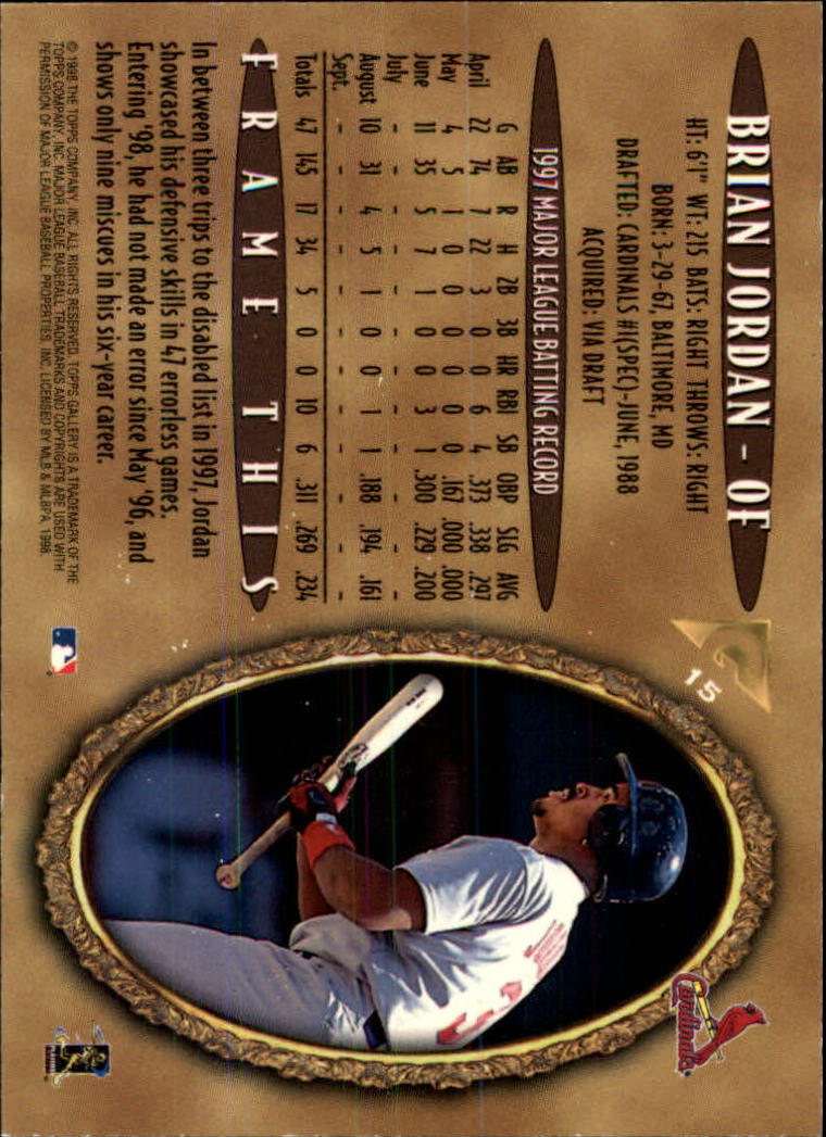 1998-Topps-Gallery-Baseball-Cards-Pick-From-List thumbnail 17