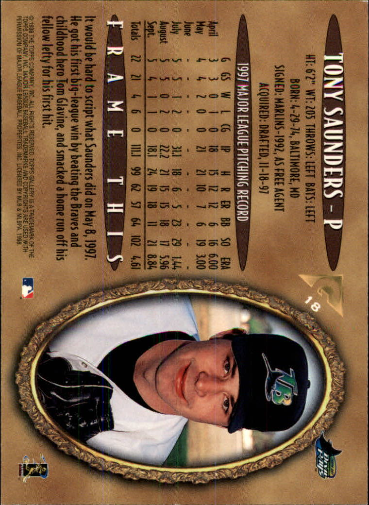 1998-Topps-Gallery-Baseball-Cards-Pick-From-List thumbnail 21