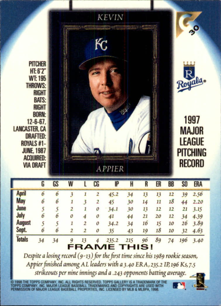 1998-Topps-Gallery-Baseball-Cards-Pick-From-List thumbnail 37