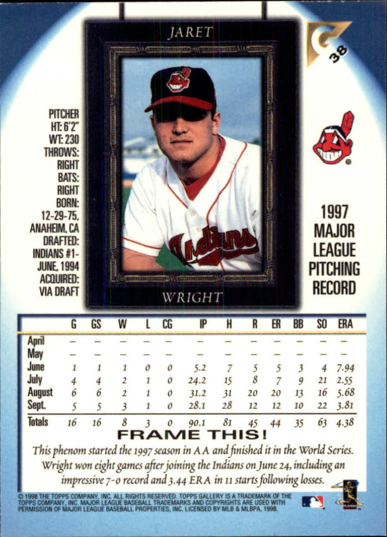 1998-Topps-Gallery-Baseball-Cards-Pick-From-List thumbnail 47