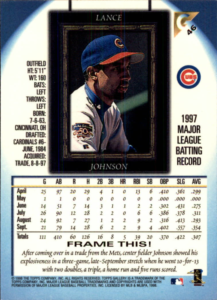 1998-Topps-Gallery-Baseball-Cards-Pick-From-List thumbnail 59