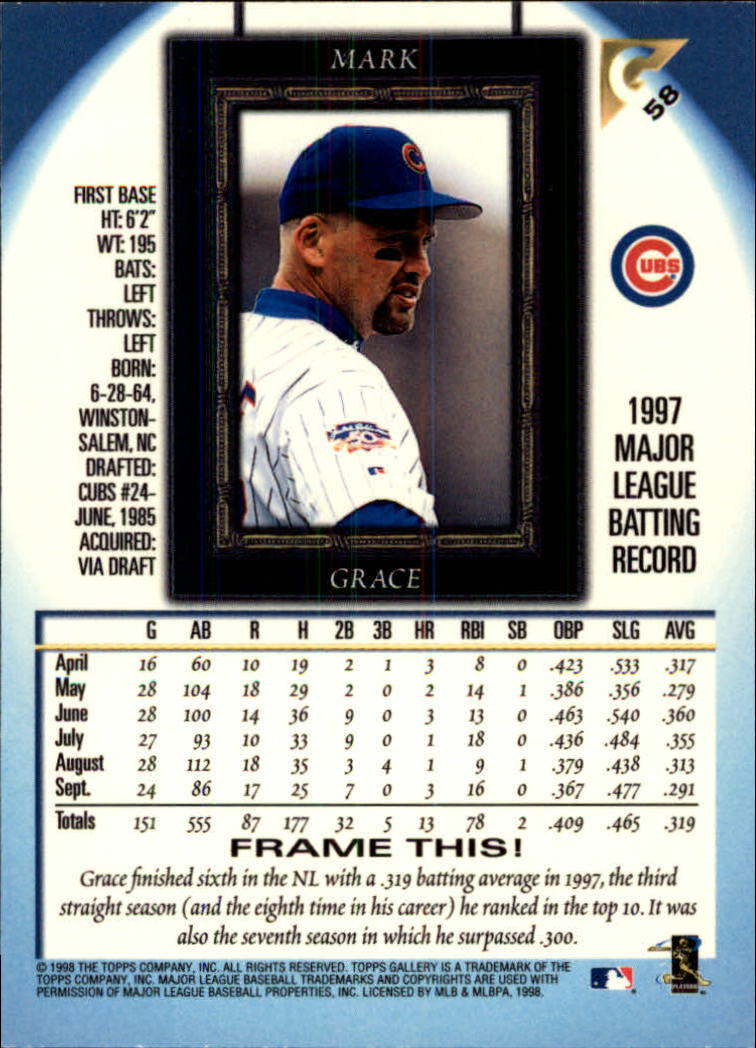 1998-Topps-Gallery-Baseball-Cards-Pick-From-List thumbnail 73