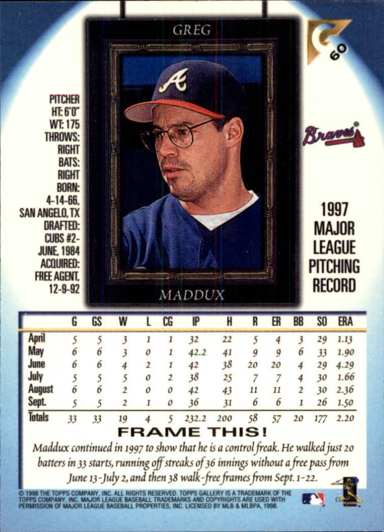 1998-Topps-Gallery-Baseball-Cards-Pick-From-List thumbnail 77