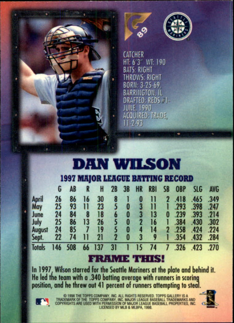 1998-Topps-Gallery-Baseball-Cards-Pick-From-List thumbnail 107