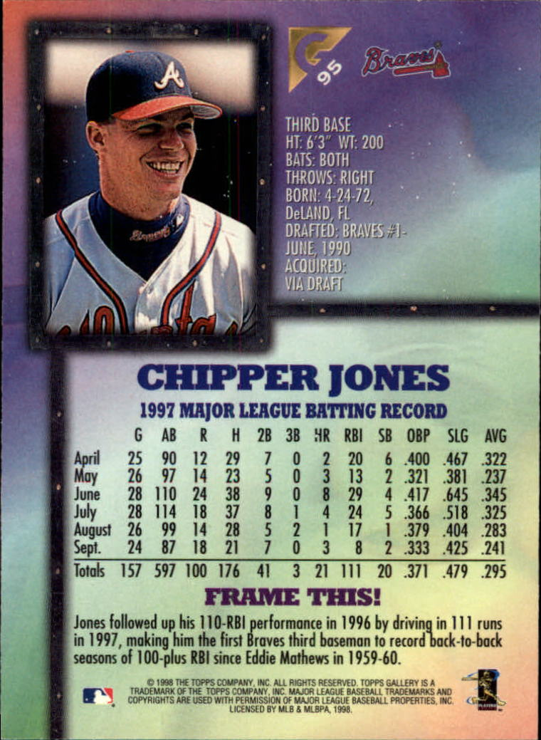 1998-Topps-Gallery-Baseball-Cards-Pick-From-List thumbnail 113