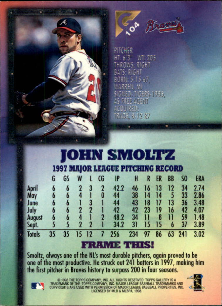 1998-Topps-Gallery-Baseball-Cards-Pick-From-List thumbnail 123