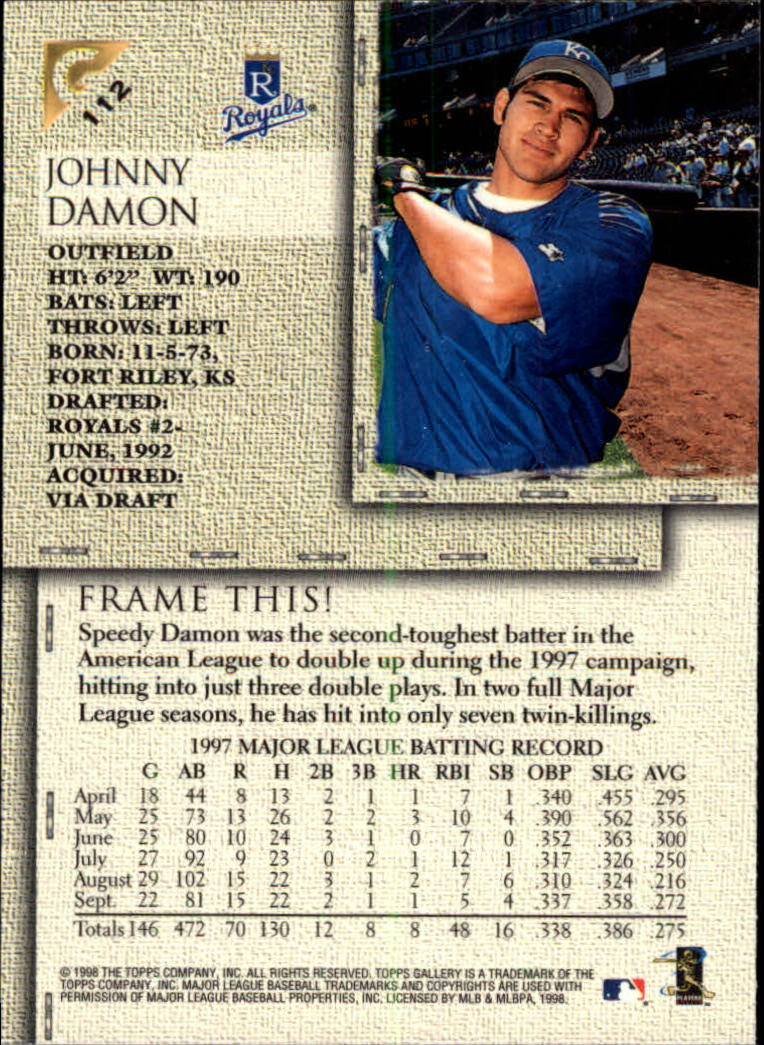 1998-Topps-Gallery-Baseball-Cards-Pick-From-List thumbnail 137