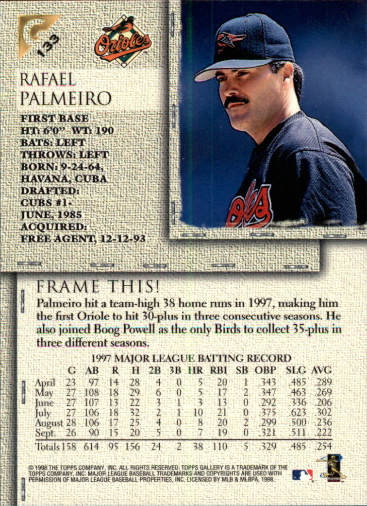 1998-Topps-Gallery-Baseball-Cards-Pick-From-List thumbnail 167
