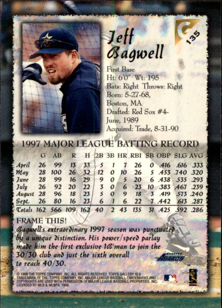 1998-Topps-Gallery-Baseball-Cards-Pick-From-List thumbnail 169