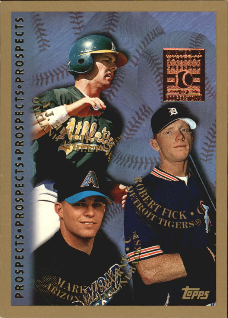 1998 Topps Minted in Cooperstown #487 Rob Fick