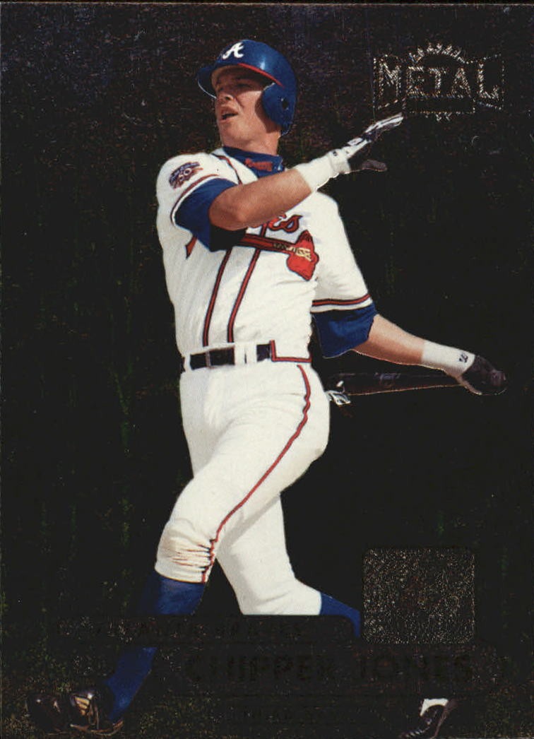 1998 Metal Universe #188 Chipper Jones