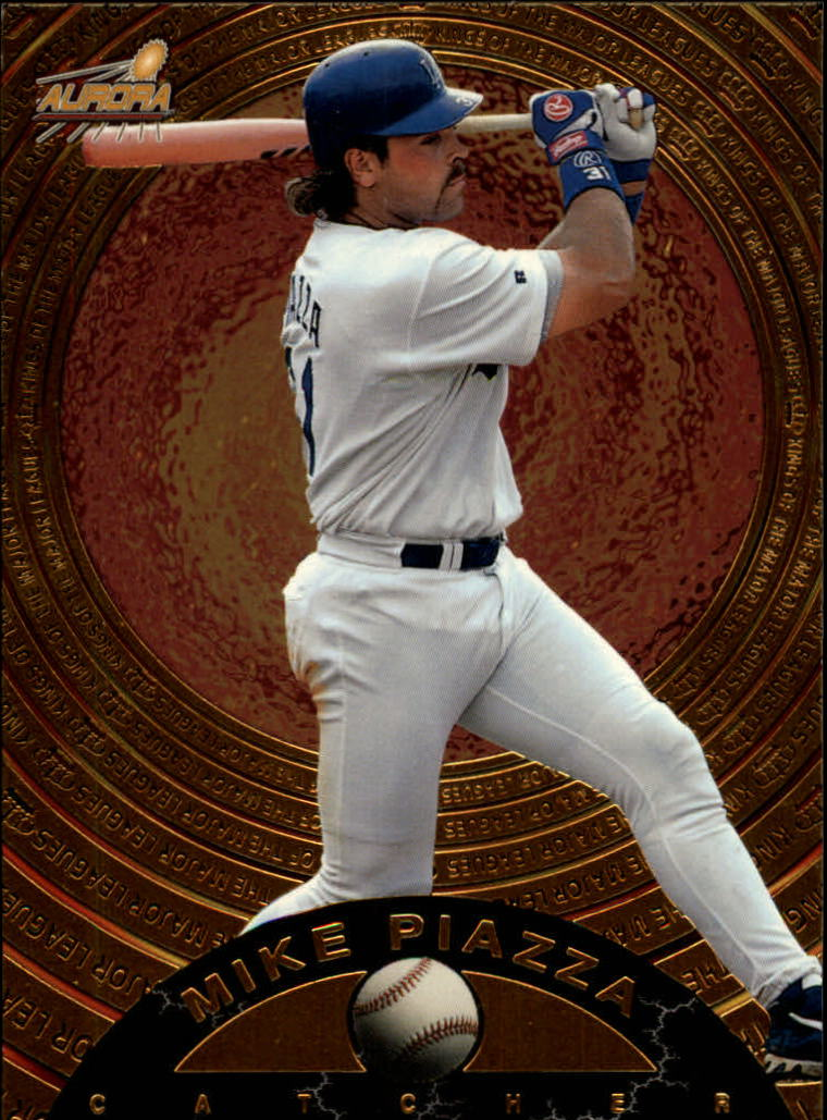 1998 Aurora Kings of the Major Leagues #6 Mike Piazza