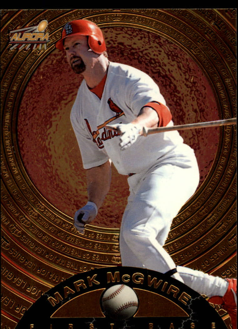 1998 Aurora Kings of the Major Leagues #7 Mark McGwire