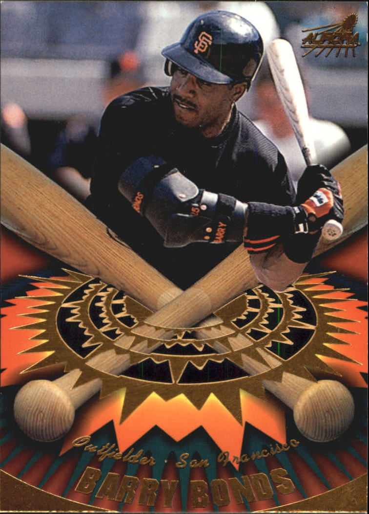 1998 Aurora On Deck Laser Cuts #15 Barry Bonds