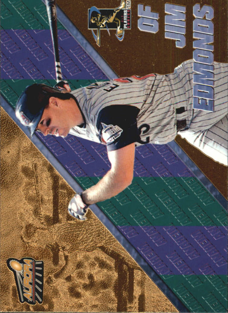 1998 Aurora Pennant Fever #39 Jim Edmonds