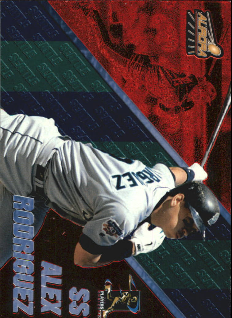 1998 Aurora Pennant Fever Red #3 Alex Rodriguez