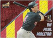 1998 Aurora Pennant Fever Red #4 Paul Molitor