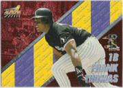 1998 Aurora Pennant Fever Red #35 Frank Thomas